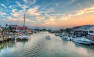Image of Shem Creek near Isle of Palms in SC