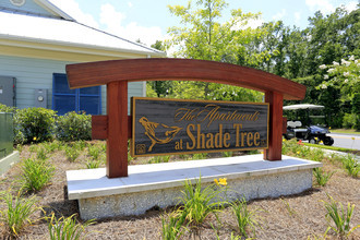 Entrance Sign of Shade Tree Apartments in Johns Island, SC