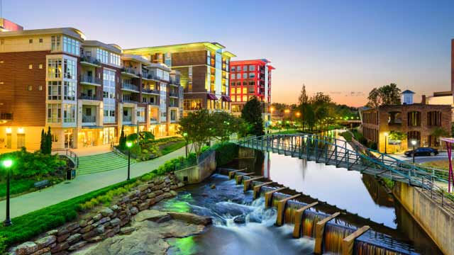 Greenville, South Carolina Corporate Rentals